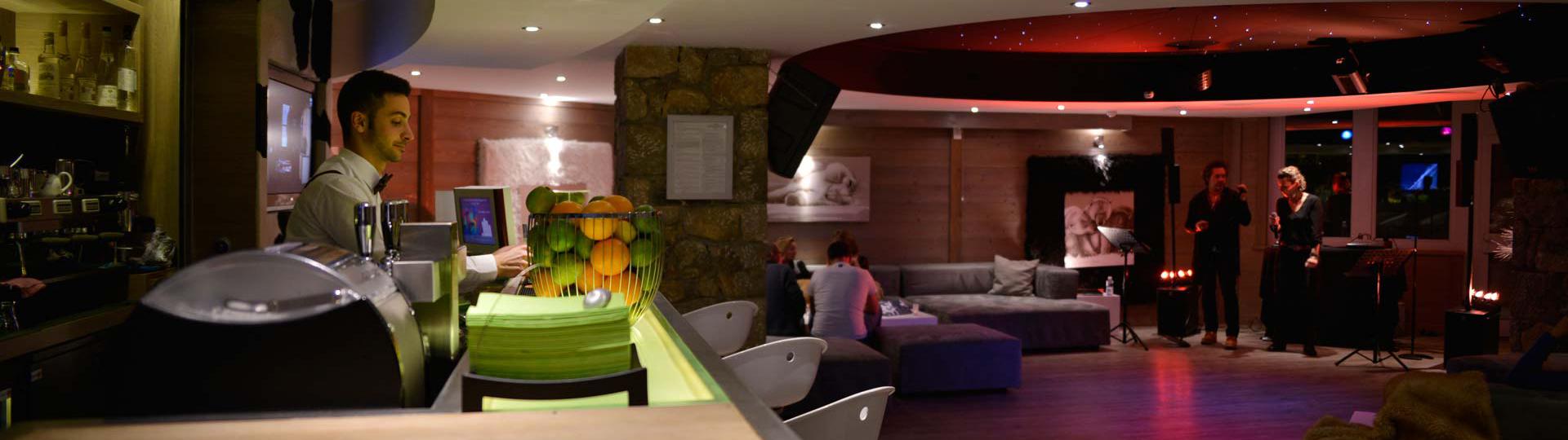 bar hotel belle plagne
