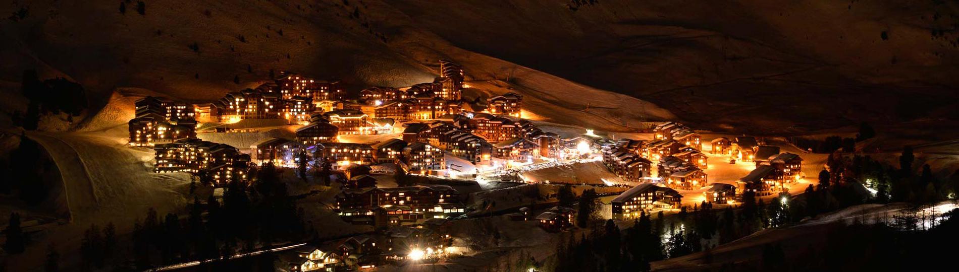 Station de ski La Plagne - village d'altitude