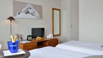 Chambres supérieure à l'hôtel Belle Plagne 2100