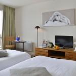 Chambre double hotel belle plagne