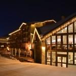 Hôtel à la station de ski La Plagne