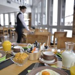 Petit déjeuner à l'hôtel Belle Plagne