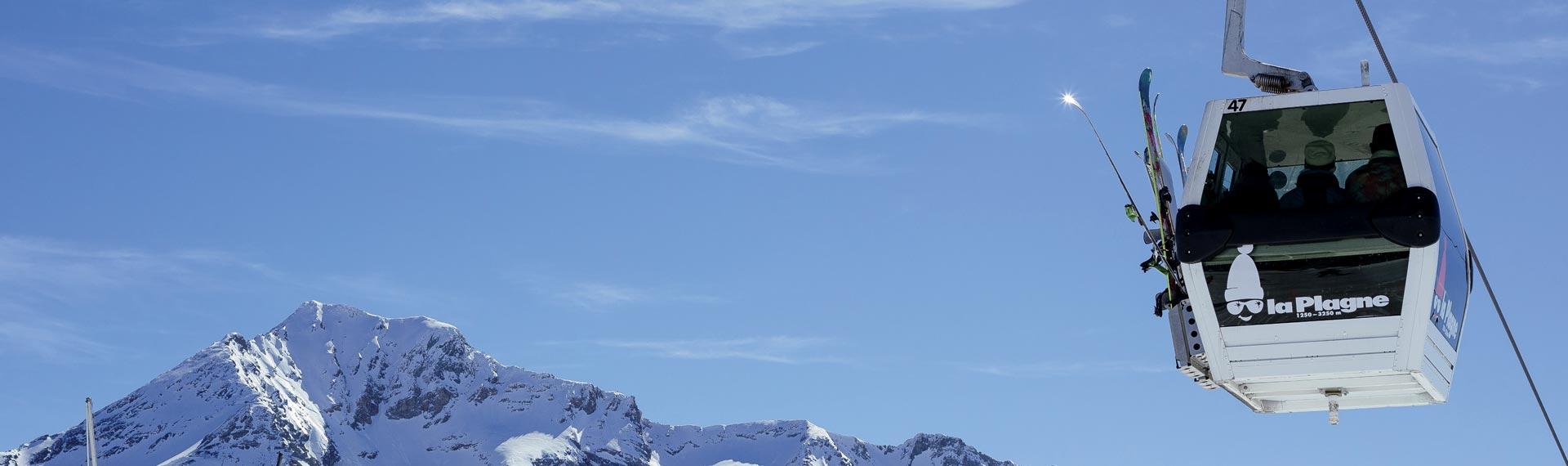 H tel belle plagne h bergement vacances de ski la for Hotel au ski
