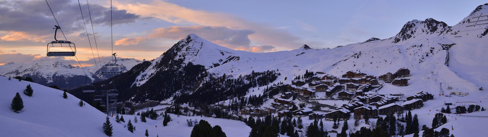 Ski au domaine Paradiski