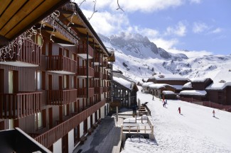 3 Star hotels La Plagne - View on the slopes