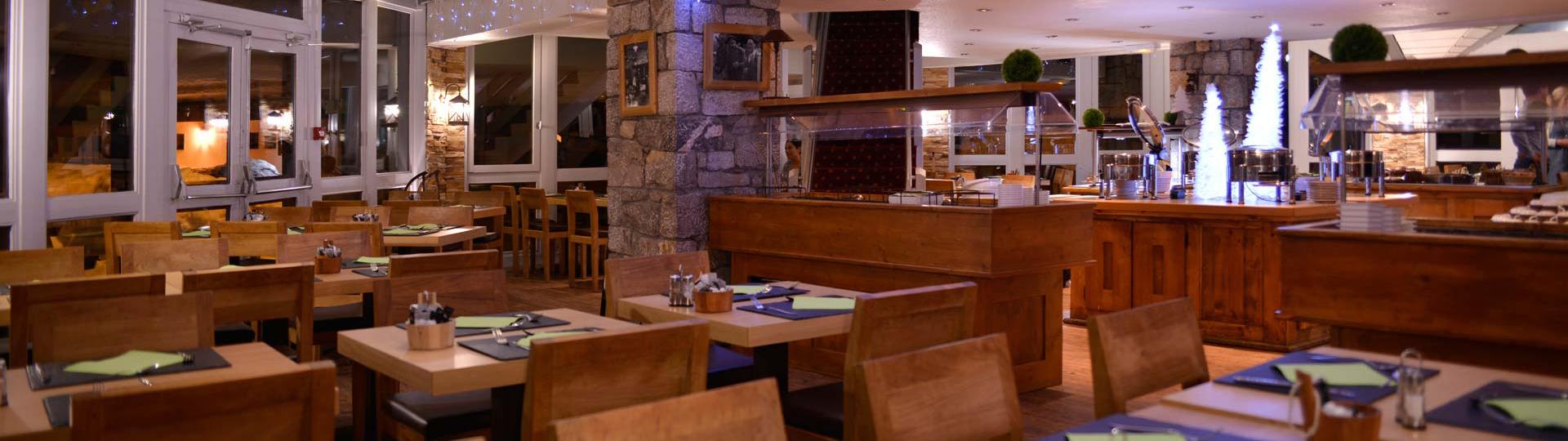 Restaurant à l'hôtel Belle Plagne