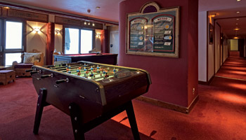 Hotel Belle Plagne - Games room