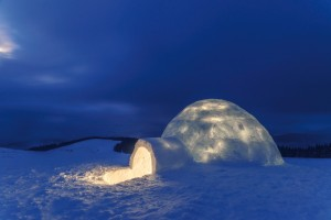 hotel belle plagne igloo