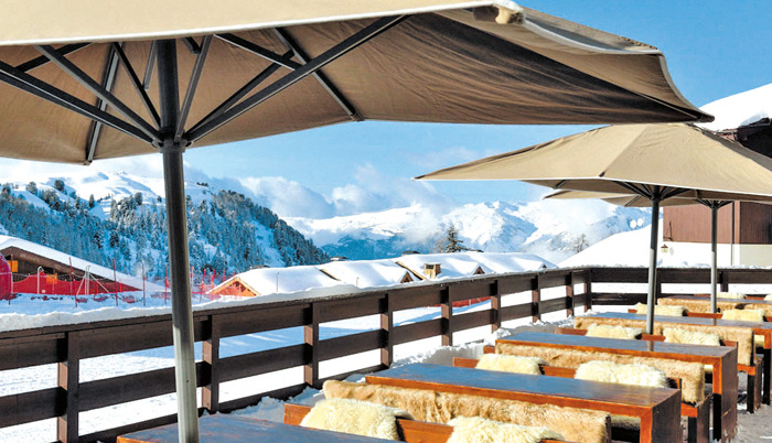 restaurant bar a belle plagne