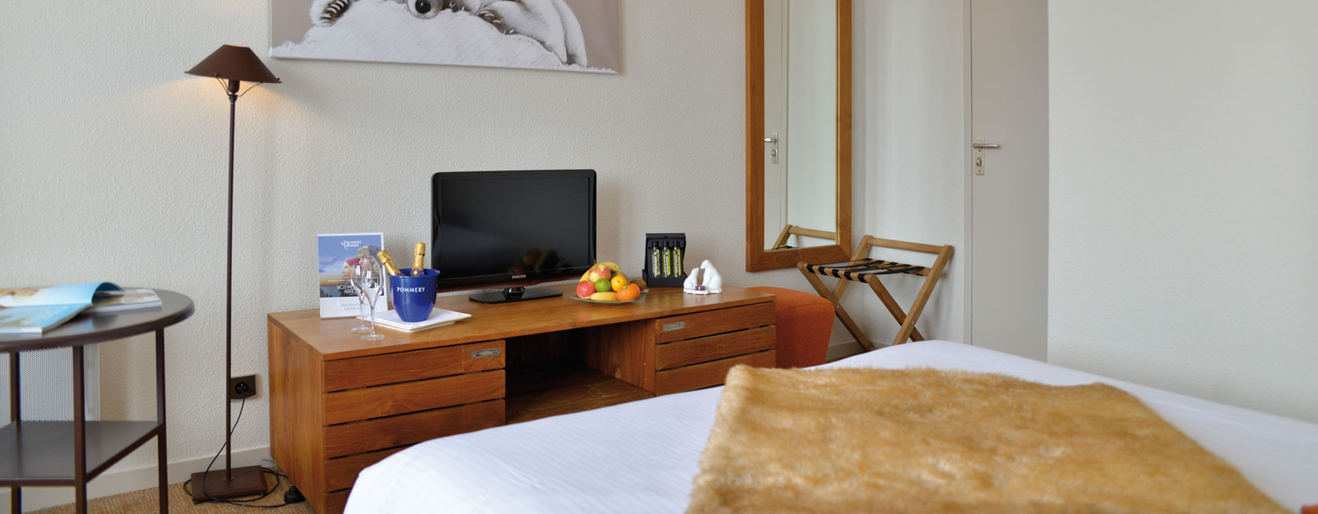 Chambres - Hôtel 3 étoiles à La Plagne